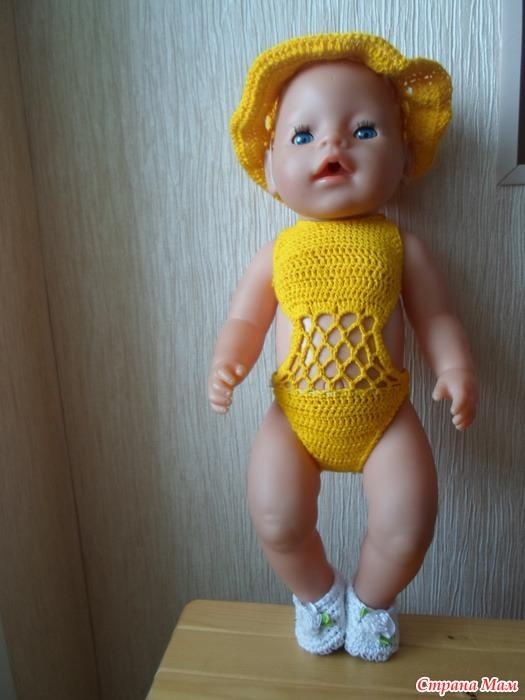 Вязание для беби борн