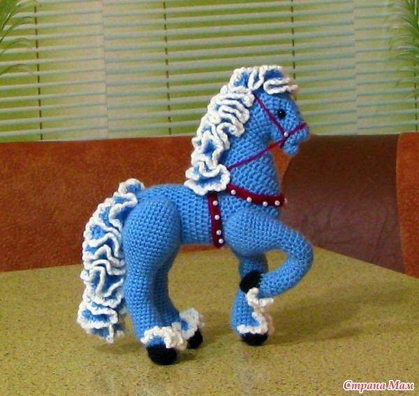 Вязать крючком для лошади