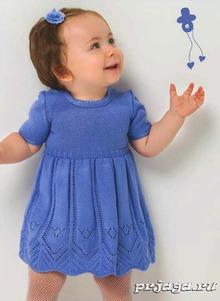 Платье для годовалой девочки