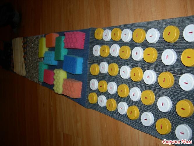 Ортопедический коврик в детский сад своими руками 89
