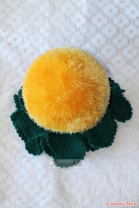 Как сделать шапку одуванчика фото своими руками