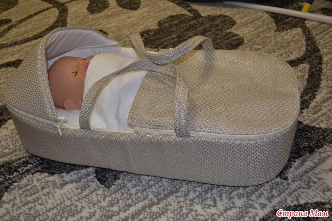 Переноска для беби бон своими руками