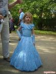 Шикарное платье на выпускной в детсад.  Опубликовала солнышко71 в группе Все в ажуре... (вязание крючком).