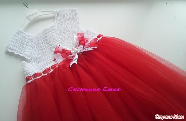 Нарядное платье - Вязание - Страна Мам