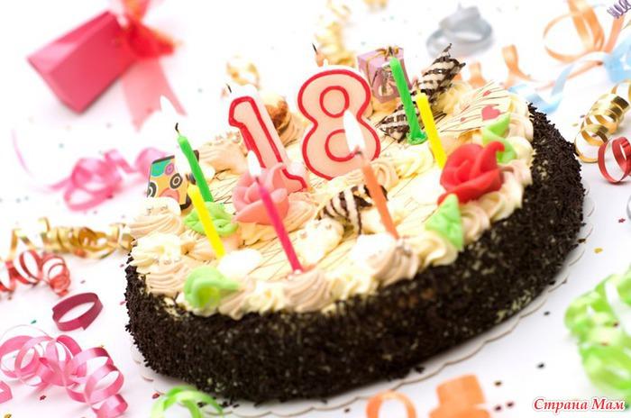 Поздравление с днем рождения подруге 18 лет