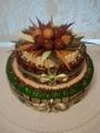 Торт Ореховый 2-х ярусный