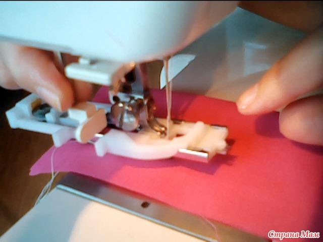 Как на машинке сделать петли
