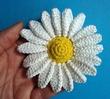 Метки вязаная роза вязаная ромашка ромашка крючком вязаные цветы. .  Вязаная ромашка, как связать ромашку...