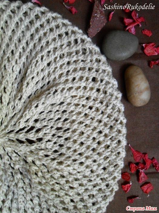 Страна мам вязание берет спицы