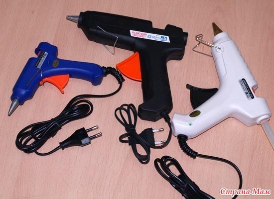 в каком можно купить клеевой пистолет