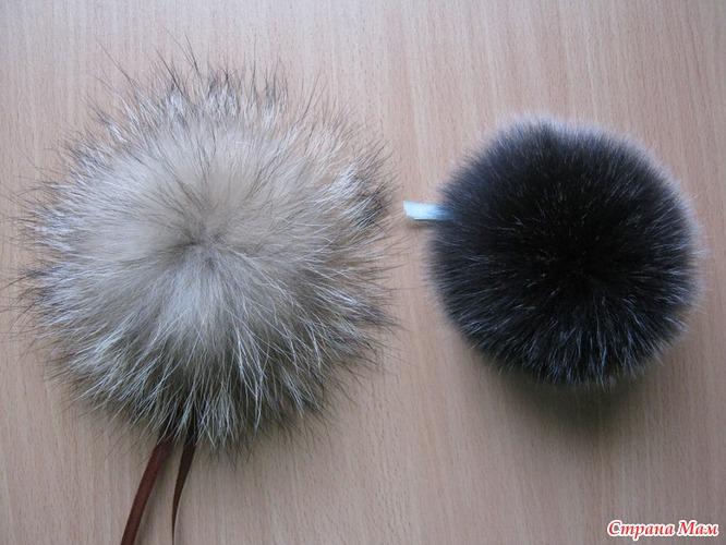Как сделать и пришить помпон на шапку