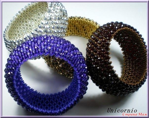 Красивые браслеты своими руками из бисера видео
