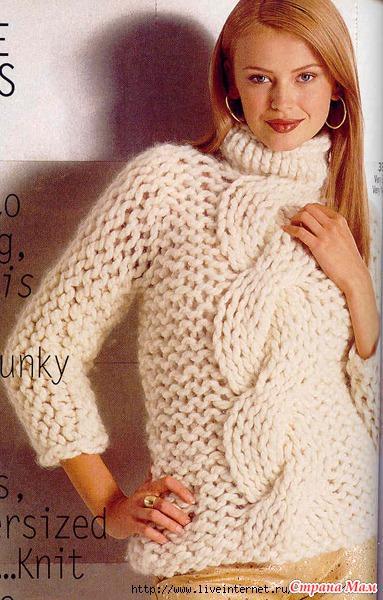Вязать свитер