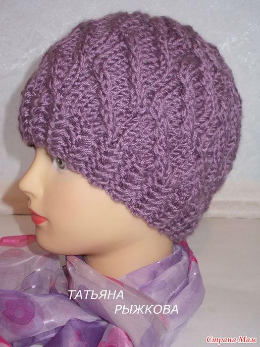 Сайт страна мам вязание шапок спицами