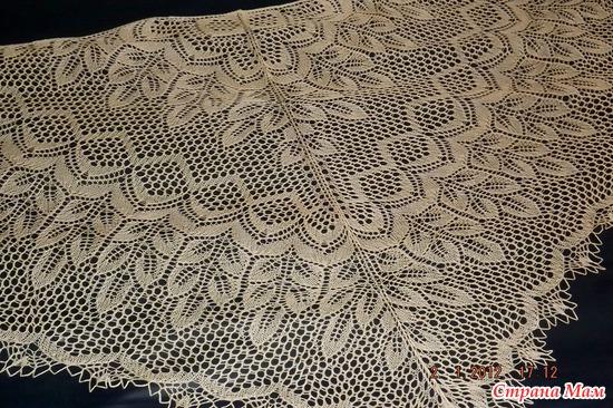 Схема вязания шали екатерина великая 53