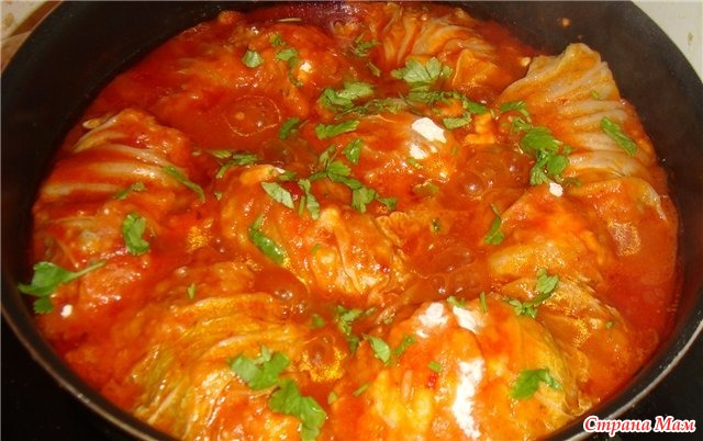 Голубцы из пекинской капусты рецепт с пошагово в духовке