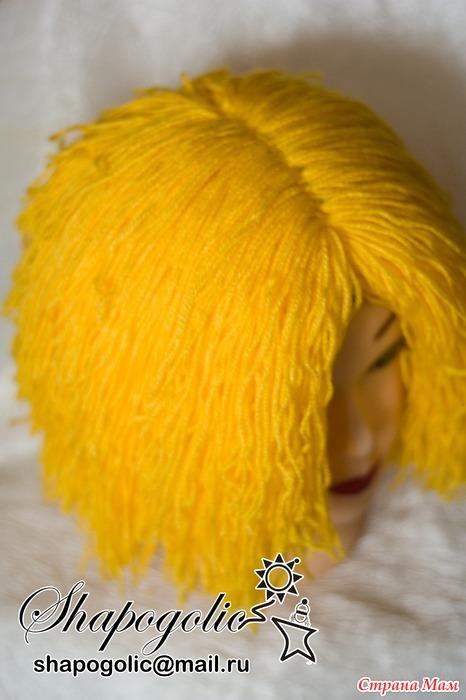 Как сделать парик для домовенка своими руками