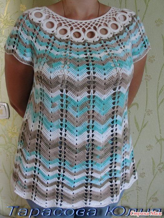Вязание спицами из ализе белла батик с описанием 34