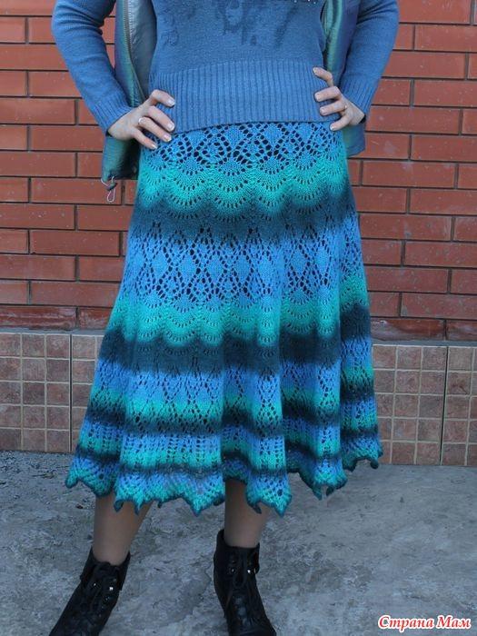 Осинка вязание спицами из кауни