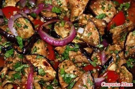Горячие блюда баклажанами рецепты фото