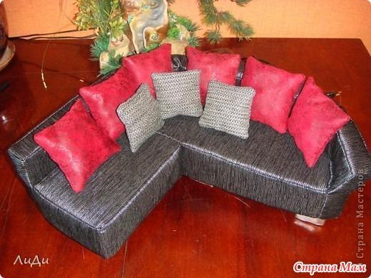 Барби как сделать диван