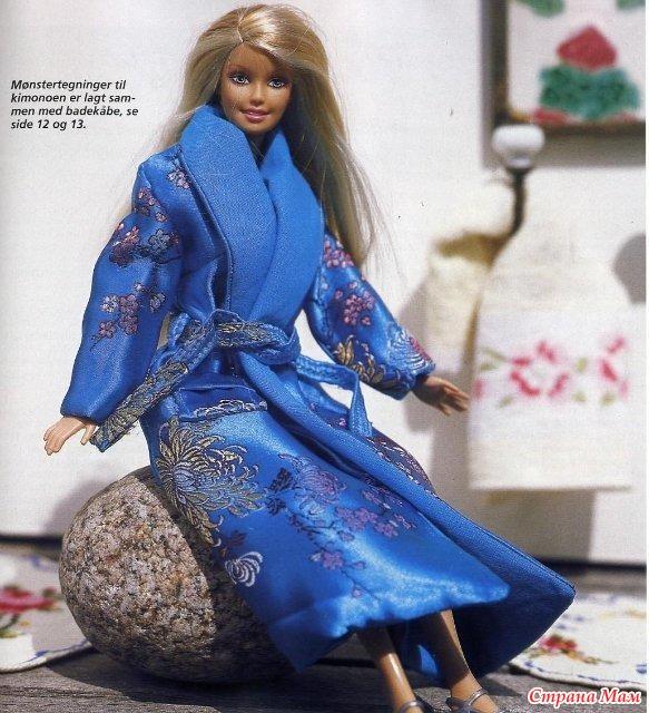 Как сделать кукле халат - Autotronix