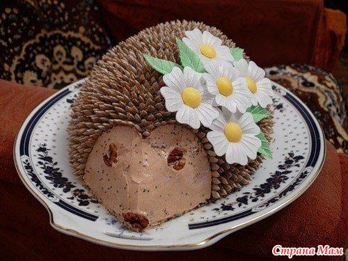 Фото торта собачка приготування
