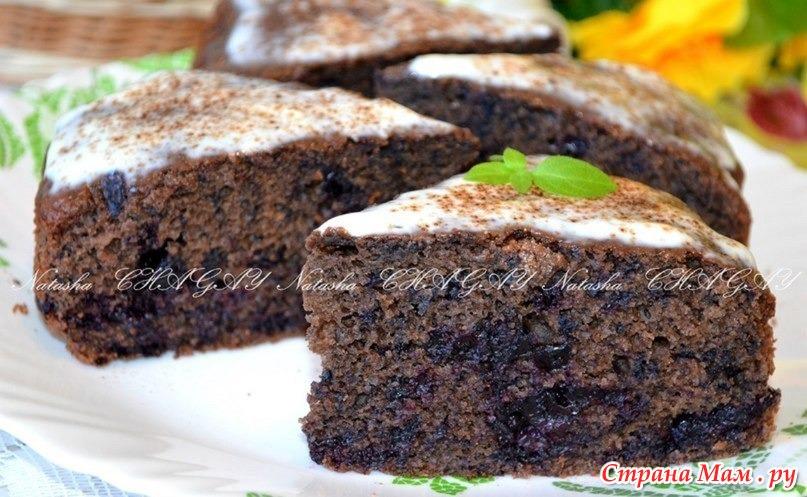 Пирог шоколадный в духовке рецепт пошаговый рецепт