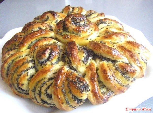 Блюда из дрожжевого теста рецепты с фото