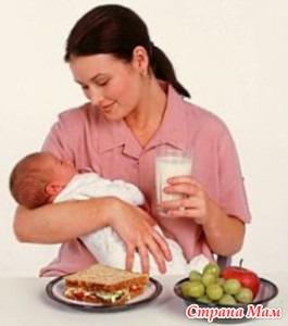 Мясо в питании кормящих