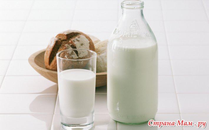 Молочные продукты в питании кормящих