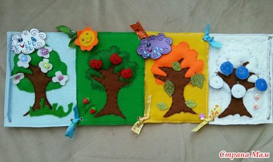 Шаблоны для развивающей книжки своими руками
