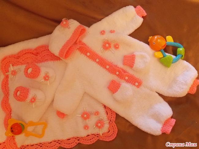Из какой пряжи можно вязать для новорожденных