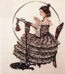 Мама-вышивальщица