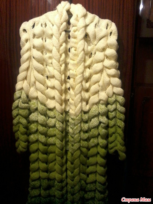 Машинное вязание шиншилла 19