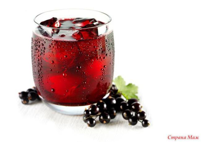 Как приготовить сок из черной смородины