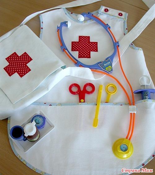 Как сшить костюм доктора в детский сад