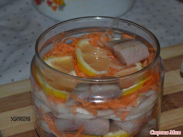маринованная селедка рецепт с фото