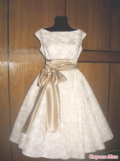 Подьюбник на платье