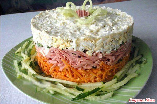 фото праздничных салатов