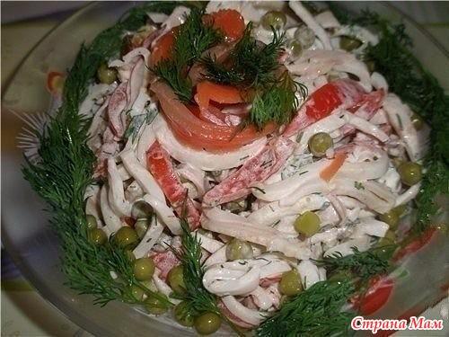 Вкусные кальмары рецепты с фото