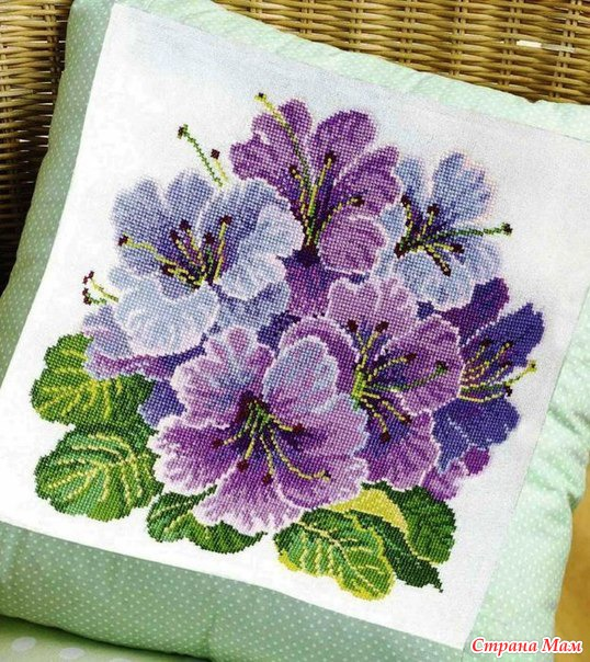 Цветочная вышивка фото