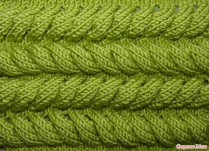 Вязание спицами объемные узоры для шапок