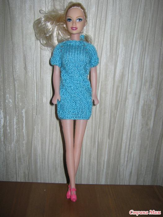 Вязание на спицах на куклу барби