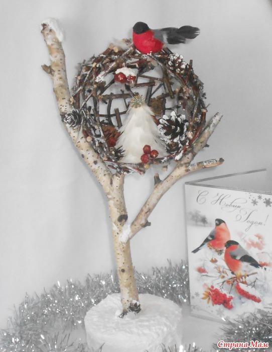 Поделки зима и птицы своими руками