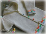 平针提花边连帽衫 - 编织幸福 - 编织幸福的博客