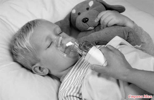 Ингаляции при насморке у детей в домашних условиях с небулайзером