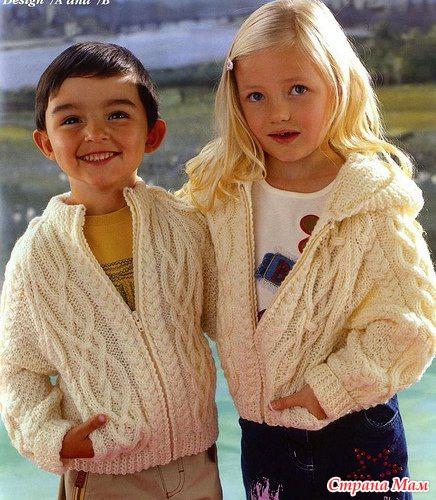 . Вязаная история № 6. Универсальная курточка от Sirdar. Жакет и шапочка. Ralph Lauren для юных джентльменов.