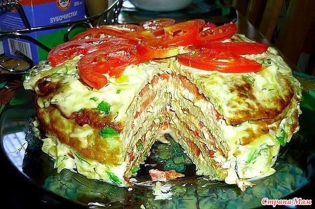 Вкуснейшие блюда из кабачков - Страна Мам