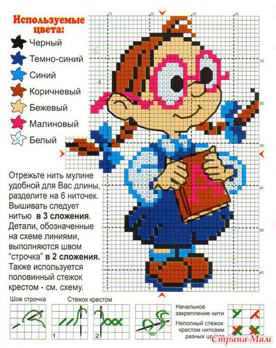 Детское от Искусницы.